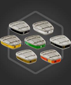 ตลับกรองแก๊สและสารระเหย 3M™ filter cartridge 6000 Series